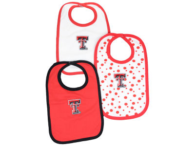 Texas Tech Red Raiders NCAA Baby Bib 3 Pack