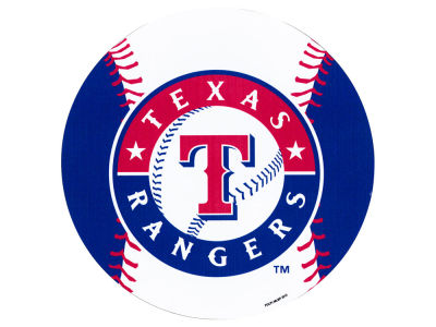 Texas Rangers 8in Car Magnet