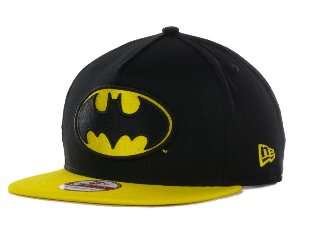 07075e110b8 Batman New Era Hero Turnover 2 9FIFTY Snapback Cap