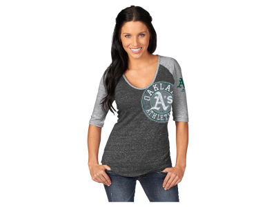 Oakland Athletics Majestic MLB Women's League Excellence Fashion T-Shirt