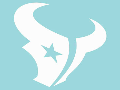 "Houston Texans Die Cut Decal 8""x8"""