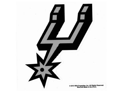 San Antonio Spurs Die Cut Color Decal 8in X 8in