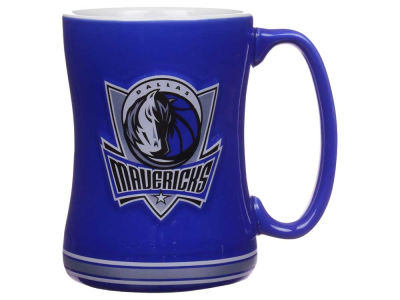 Dallas Mavericks 14 oz Relief Mug