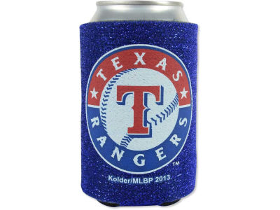 Texas Rangers Glitter Can Coozie