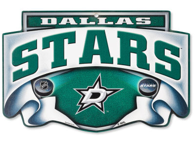Dallas Stars 11x17 Wood Sign