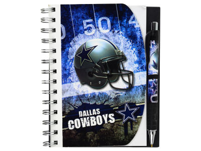 Dallas Cowboys 5x7 Spiral Notebook And Pen Set