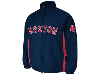 Boston Red Sox Majestic MLB Men's Double Climate On-Field Jacket