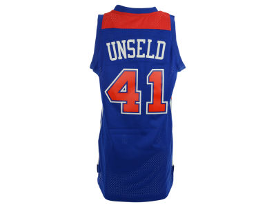 Washington Bullets Wes Unseld adidas NBA Retired Player Swingman Jersey