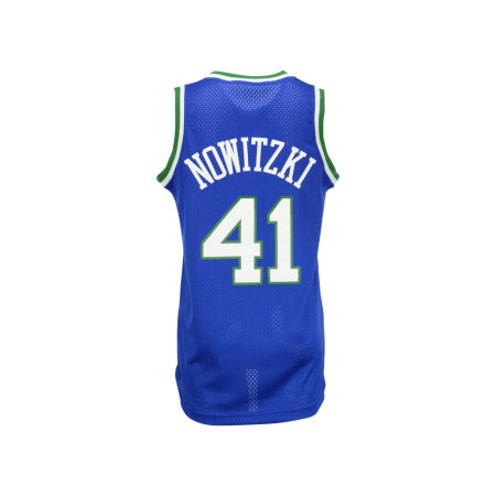 Dallas Mavericks Dirk Nowitzki Adidas NBA HWC Men's Player Swingman Jersey