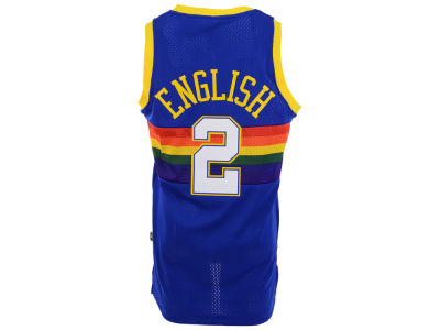 Denver Nuggets Alex English adidas NBA Men's Retired Player Swingman Jersey