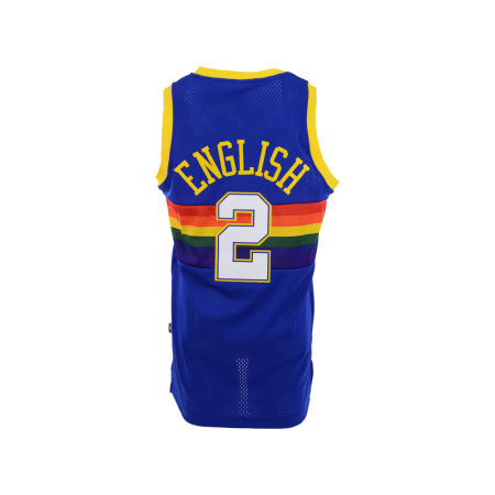Denver Nuggets Alex English Adidas NBA Men's Retired Player Swingman Jersey