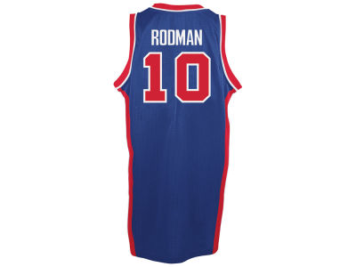 Detroit Pistons Dennis Rodman adidas NBA Retired Player Swingman Jersey