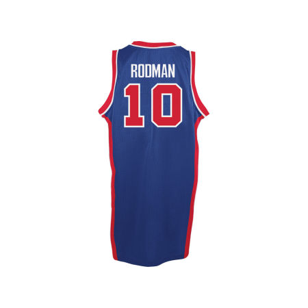 Detroit Pistons Dennis Rodman Adidas NBA Men's Retired Player Swingman Jersey