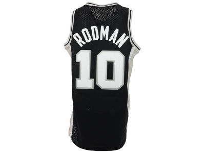 San Antonio Spurs Dennis Rodman adidas NBA Retired Player Swingman Jersey