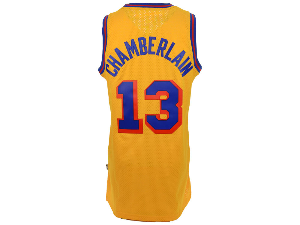 San Francisco Warriors Wilt Chamberlain adidas NBA Men s Retired Player Swingman  Jersey  6701f1832