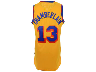 San Francisco Warriors Wilt Chamberlain adidas NBA Men's Retired Player Swingman Jersey