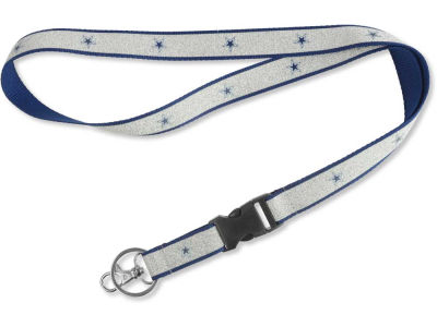 Dallas Cowboys Sparkle Lanyard-Aminco