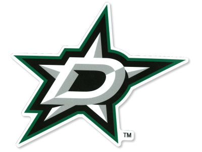 Dallas Stars Die Cut Color Decal 8in X 8in