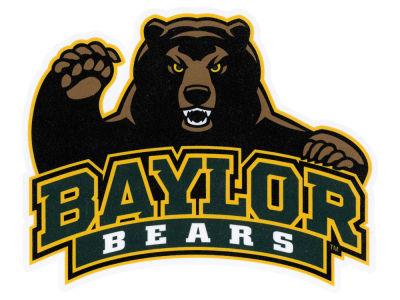Baylor Bears Die Cut Color Decal 8in X 8in