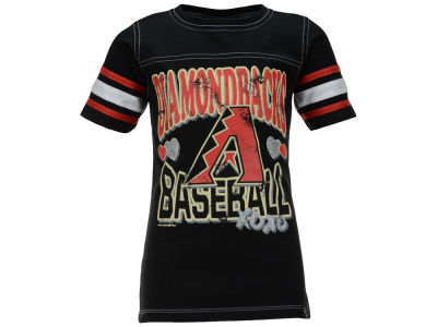 Arizona Diamondbacks 5th & Ocean MLB Youth Girls XOXO T-Shirt