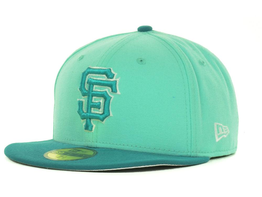2f409a56 San Francisco Giants New Era MLB Hyper Tint 59FIFTY Cap