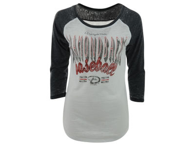 Arizona Diamondbacks MLB Women's Burnout Raglan T-Shirt