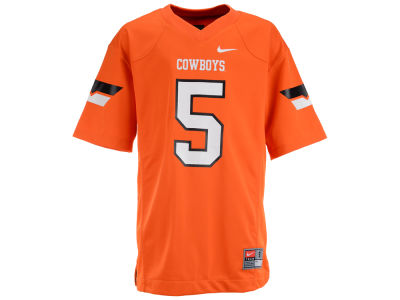 Oklahoma State Cowboys NCAA Youth Replica Football Game Jersey
