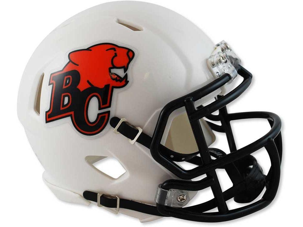 BC Lions Speed Mini Helmet  0a3a13fcb