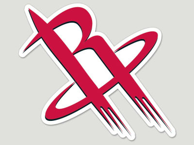 Houston Rockets Die Cut Color Decal 8in X 8in