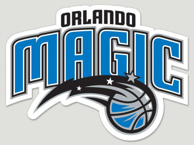 Orlando Magic Die Cut Color Decal 8in X 8in