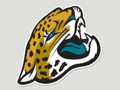 Jacksonville Jaguars Die Cut Color Decal 8in X 8in