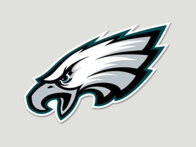 Philadelphia Eagles Die Cut Color Decal 8in X 8in