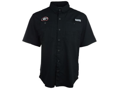 Georgia Bulldogs Columbia NCAA Tamiami Shirt