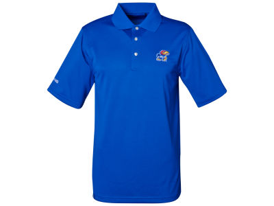 Kansas Jayhawks NCAA Iron Polo