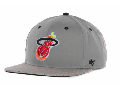 Miami Heat '47 NBA Hardwood Classics Space Out Snapback Cap