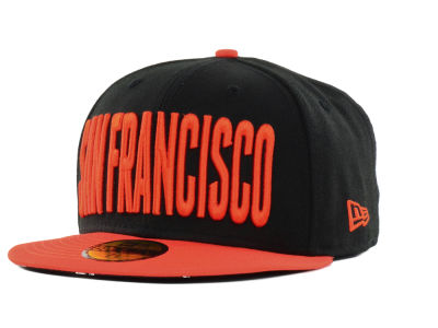 San Francisco Giants New Era MLB Big GPS 59FIFTY Cap