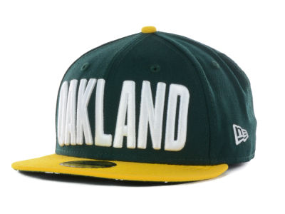 Oakland Athletics New Era MLB Big GPS 59FIFTY Cap