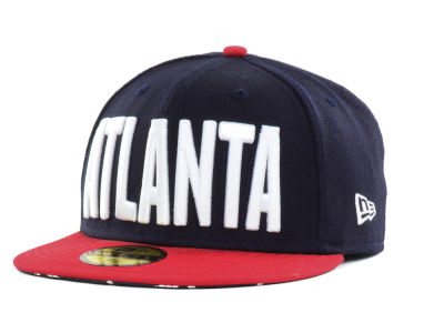 Atlanta Braves New Era MLB Big GPS 59FIFTY Cap