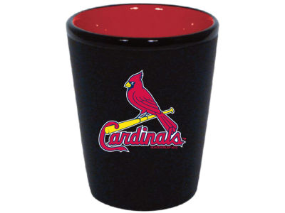 St. Louis Cardinals 2 Tone Ceramic Collectors Glass