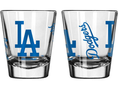 Los Angeles Dodgers Game Day Collectible Glass-2oz.