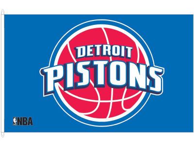 Detroit Pistons 3x5ft Flag