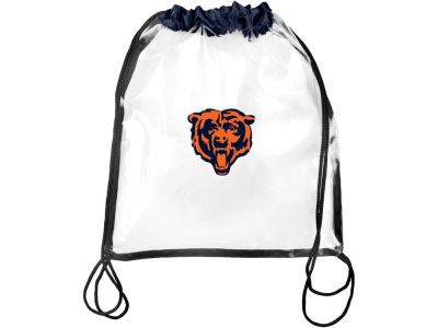 Chicago Bears Clear Drawstring Backpack