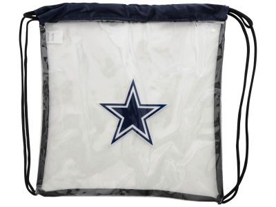 Dallas Cowboys Clear Drawstring Backpack
