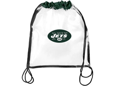 New York Jets Clear Drawstring Backpack