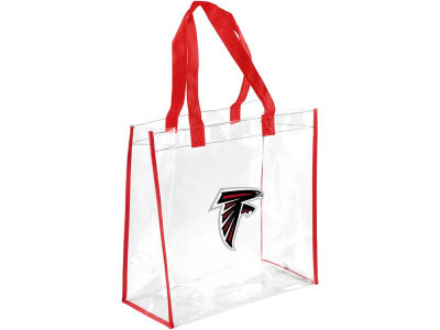Atlanta Falcons Clear Reusable Bag