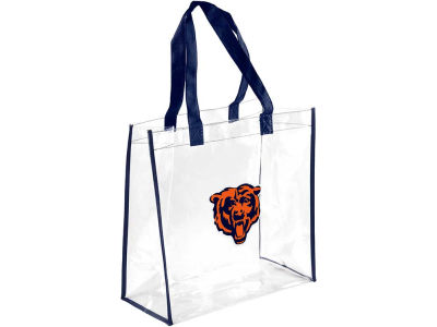 Chicago Bears Clear Reusable Bag