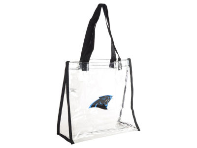 Carolina Panthers Clear Reusable Bag