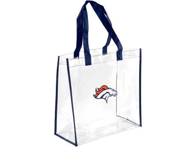 Denver Broncos Clear Reusable Bag