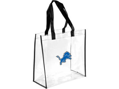 Detroit Lions Forever Collectibles Clear Reusable Bag