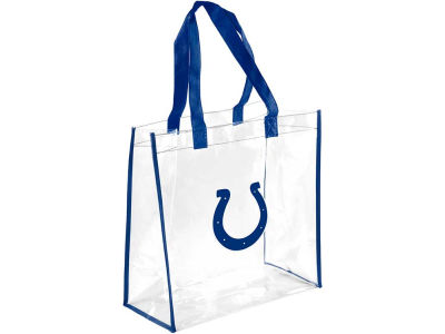 Indianapolis Colts Clear Reusable Bag